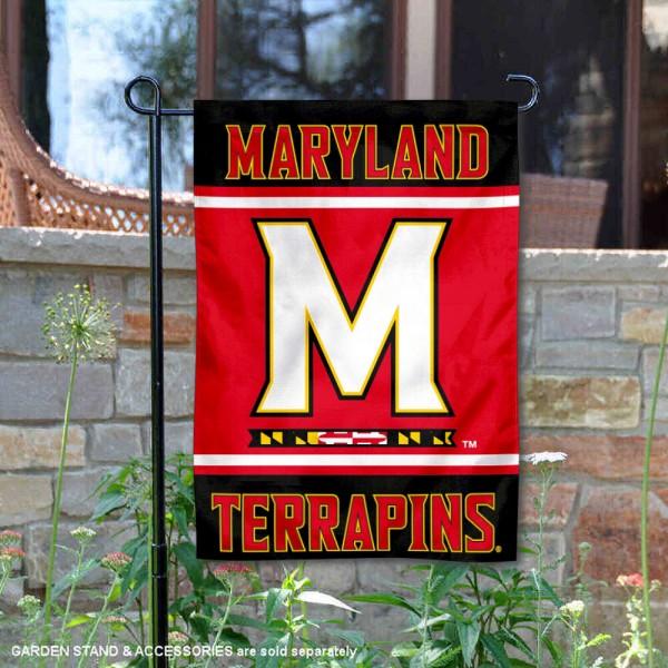 Maryland Terps Garden Flag