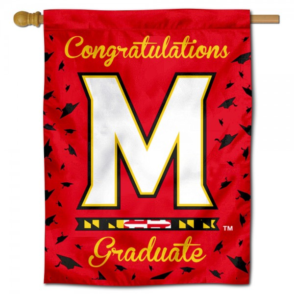 Maryland Terps Graduation Banner