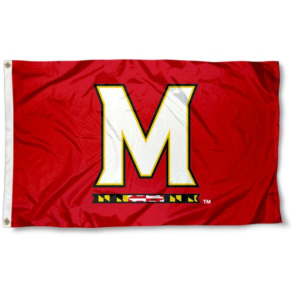 "Maryland Terps ""M"" Flag"