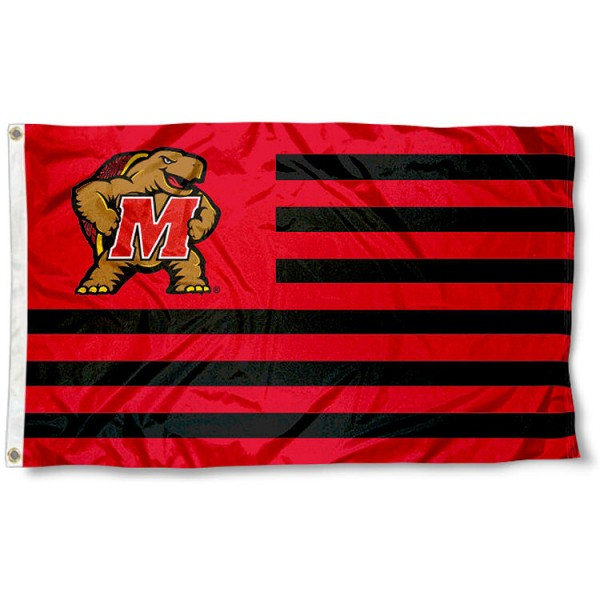 Maryland Terps Nation Flag