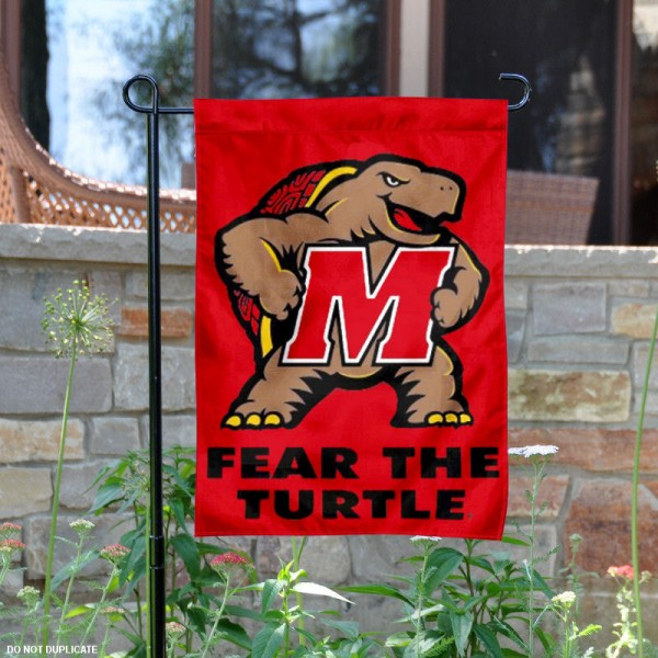 Maryland Terrapins Garden Flag