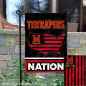 Maryland Terrapins Nation Garden Flag