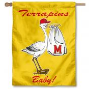Maryland Terrapins New Baby Banner