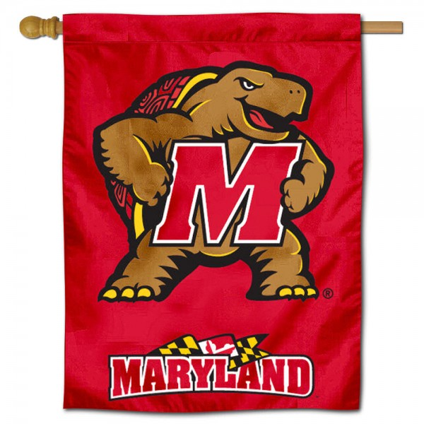 Maryland Terrapins Polyester House Flag