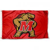 Maryland Terrapins Red Flag