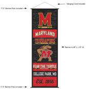 Maryland Terrapins Wall Banner and Door Scroll
