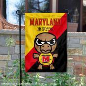 Maryland Terrapins Yuru Chara Tokyo Dachi Garden Flag