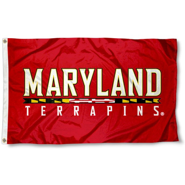 Maryland University Flag
