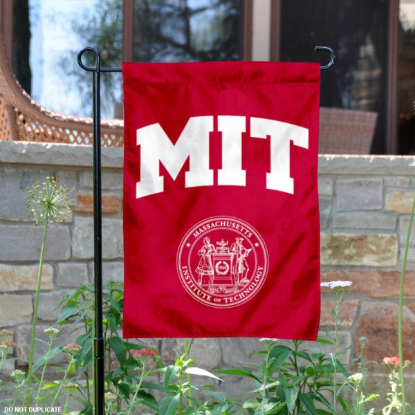 Massachusetts Institute of Technology Garden Flag