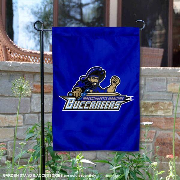 Massachusetts Maritime Buccaneers Garden Flag