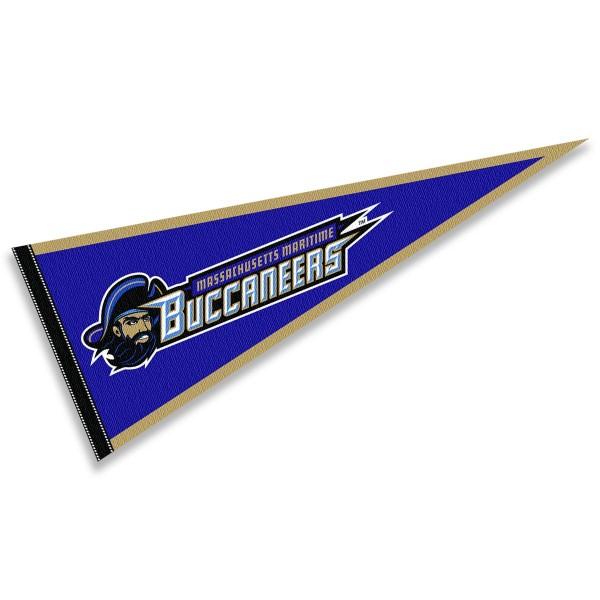 Massachusetts Maritime Buccaneers Pennant