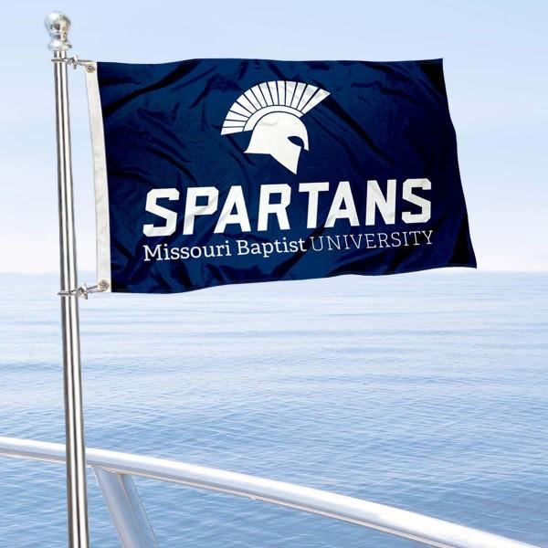 MBU Spartans Boat Nautical Flag