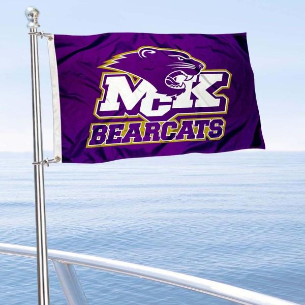 MCK Bearcats Boat Nautical Flag