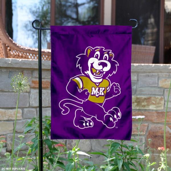 McKendree Bearcats Mascot Garden Flag