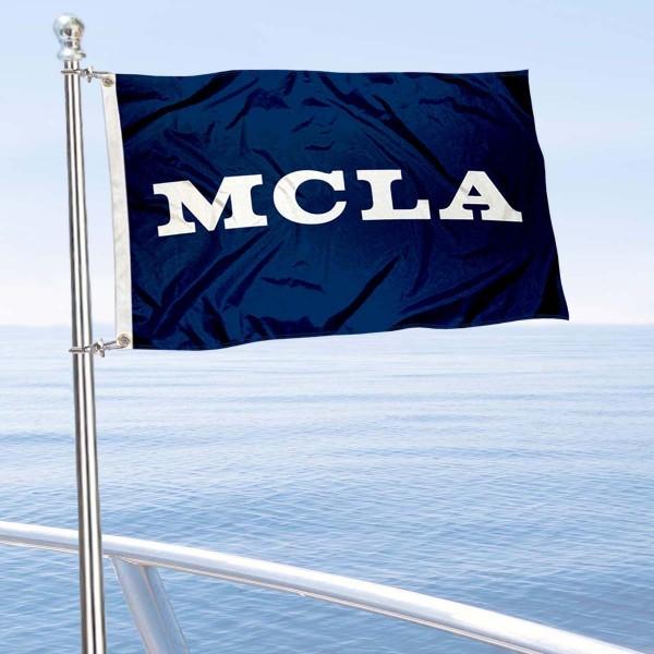 MCLA Trailblazers Boat Nautical Flag