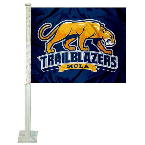 MCLA Trailblazers Car Flag