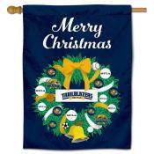 MCLA Trailblazers Christmas Holiday House Flag