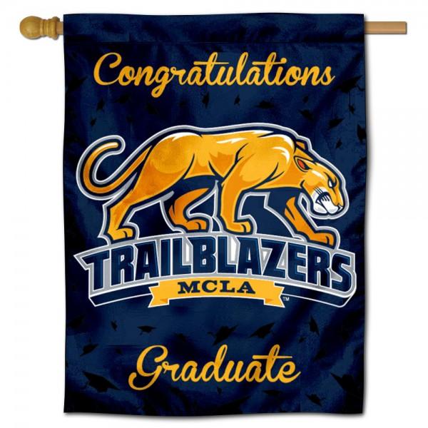 MCLA Trailblazers Graduation Banner