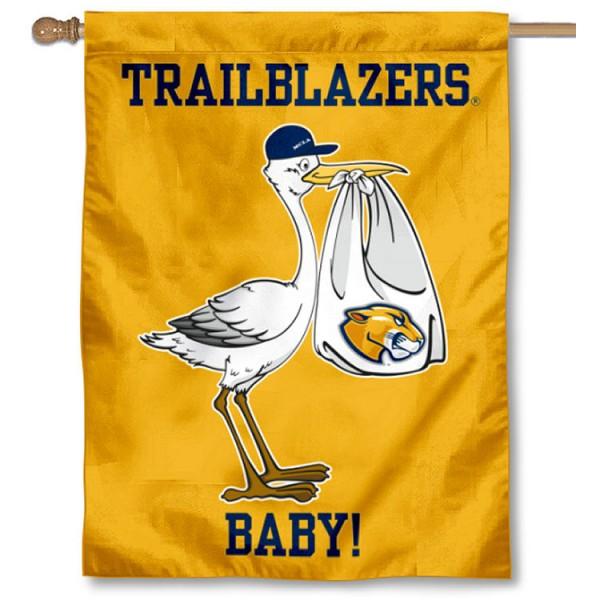 MCLA Trailblazers New Baby Banner
