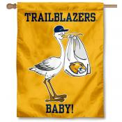 MCLA Trailblazers New Baby Banner