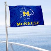 McNeese State Cowboys Boat Nautical Flag