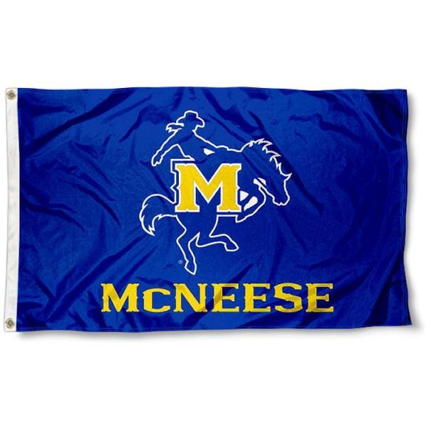 McNeese State Cowboys New Logo Flag