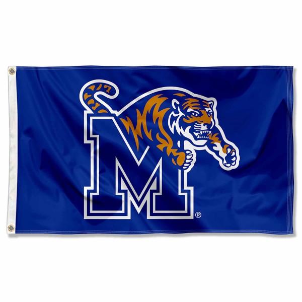 Memphis Tigers Appliqued Nylon Flag