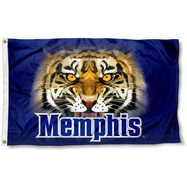 Memphis Tigers Eyes Flag