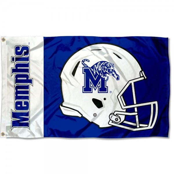 Memphis Tigers Helmet Flag