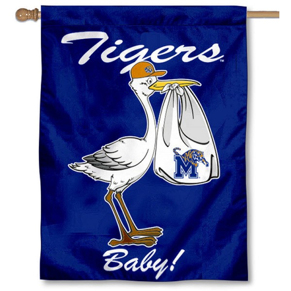 Memphis Tigers New Baby Banner