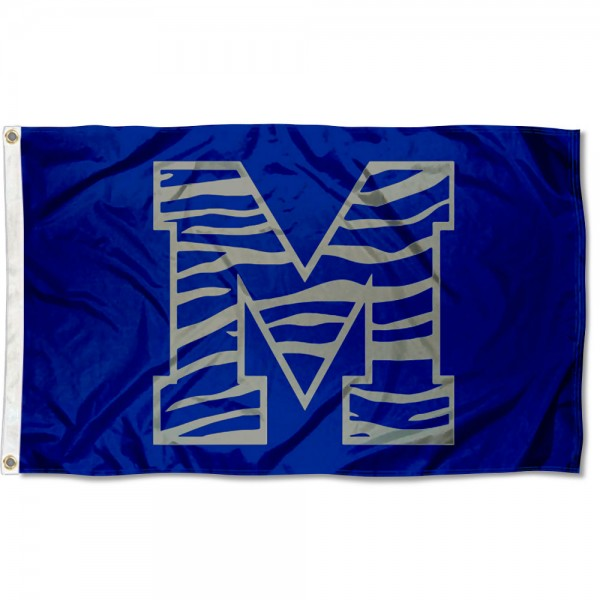 Memphis Tigers Stripe Flag