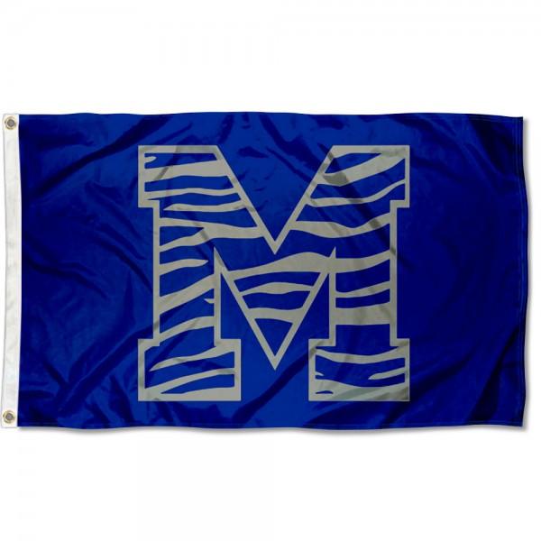 Memphis Tigers Stripe Flag