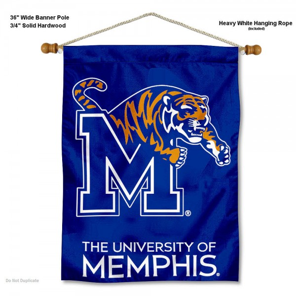 Memphis Tigers Wall Hanging