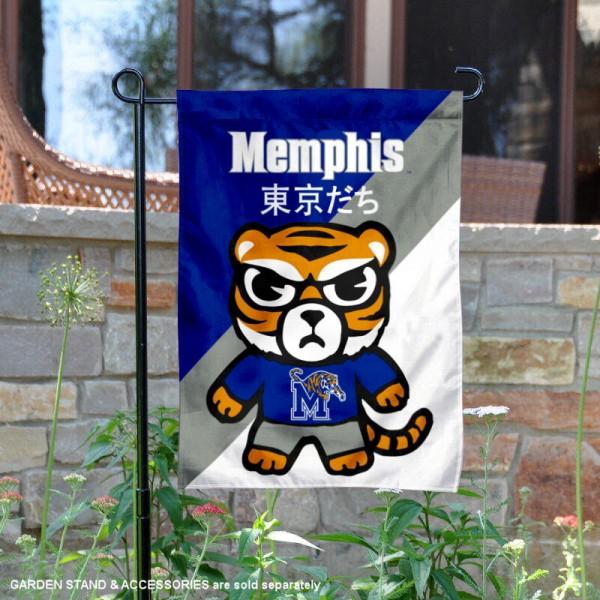 Memphis Tigers Yuru Chara Tokyo Dachi Garden Flag