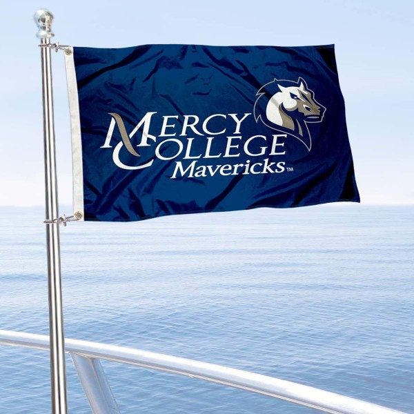 Mercy College Boat Nautical Flag