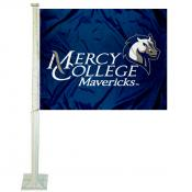 Mercy College Mavericks Car Flag