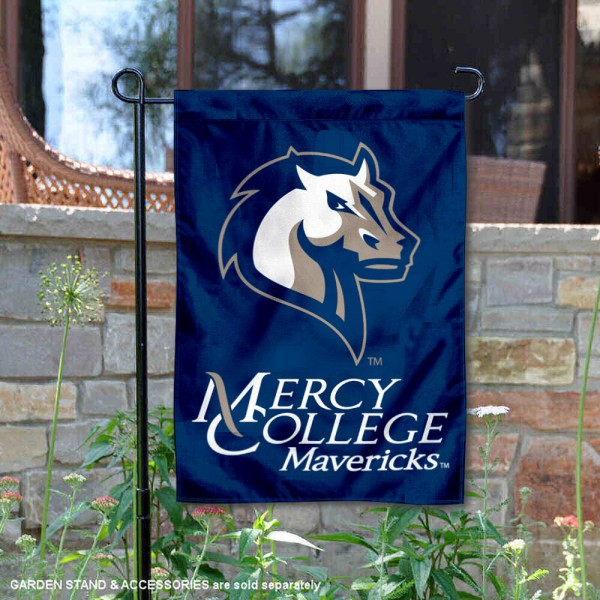 Mercy College Mavericks Garden Flag
