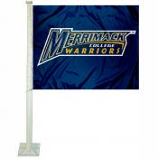 Merrimack College Car Flag