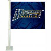 Merrimack College Car Flag