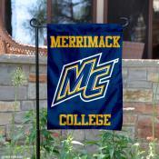 Merrimack College Logo Garden Banner