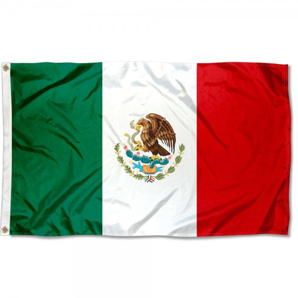Mexico Country 3x5 Polyester Flag