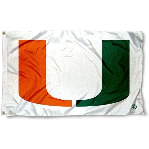 Miami Hurricanes Flag