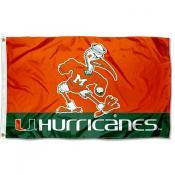 Miami Hurricanes Sebastian Flag