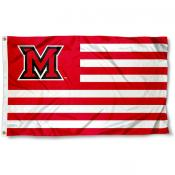 Miami MU Redhawk Nation Flag
