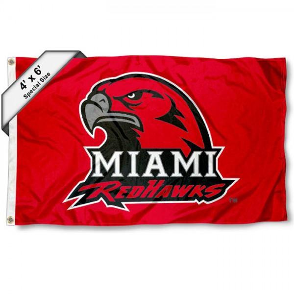 Miami Redhawks 4'x6' Flag