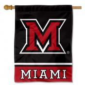 Miami Redhawks House Flag