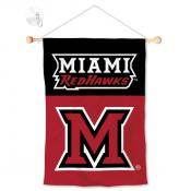 Miami Redhawks Small Wall and Window Banner