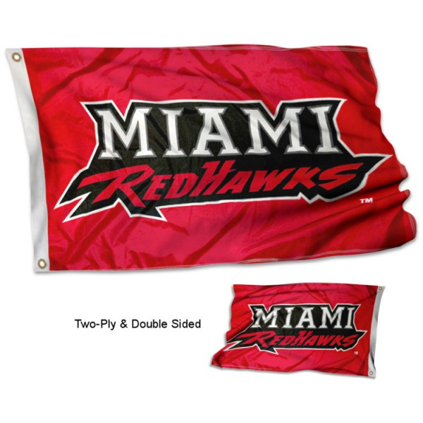 Miami University Stadium Flag