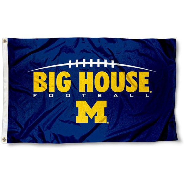 Michigan Big House Flag