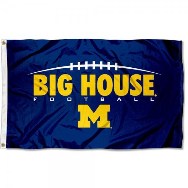 Michigan Big House Flag
